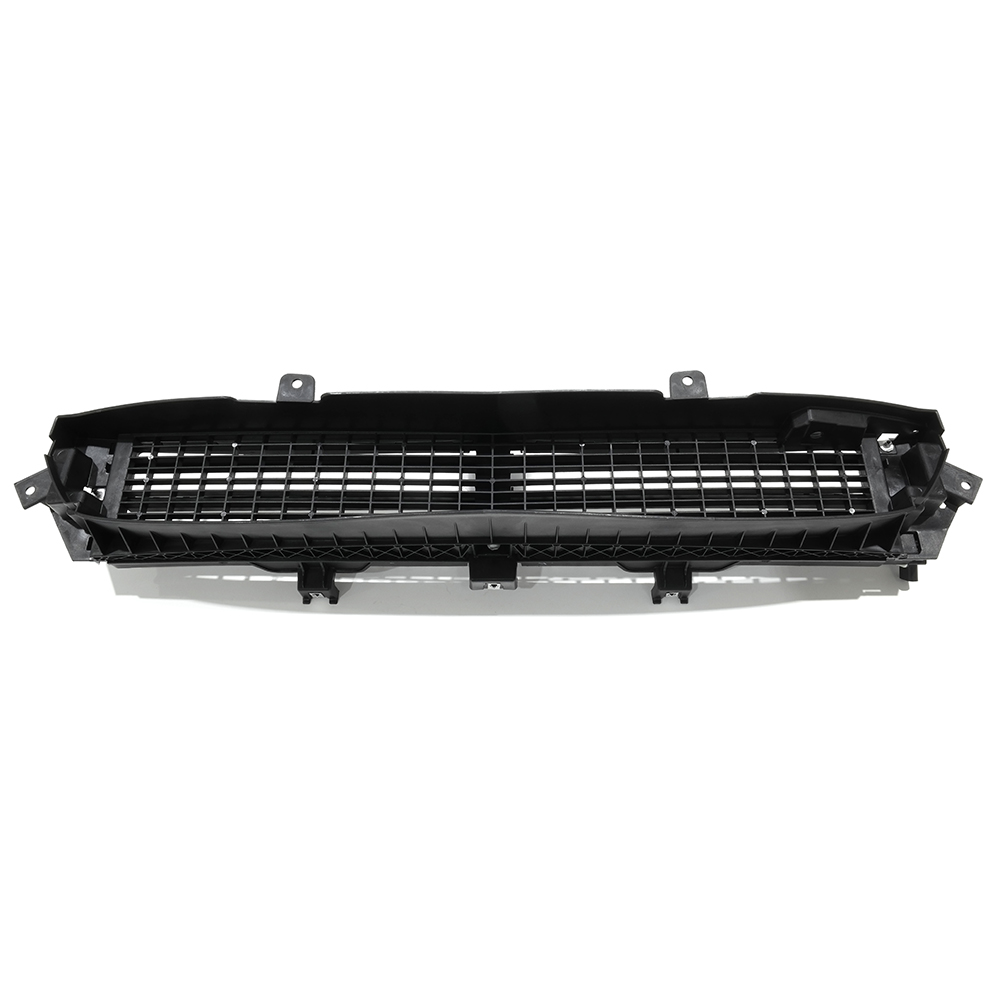 oem new front bumper grille shutter black 2014 2015. Black Bedroom Furniture Sets. Home Design Ideas