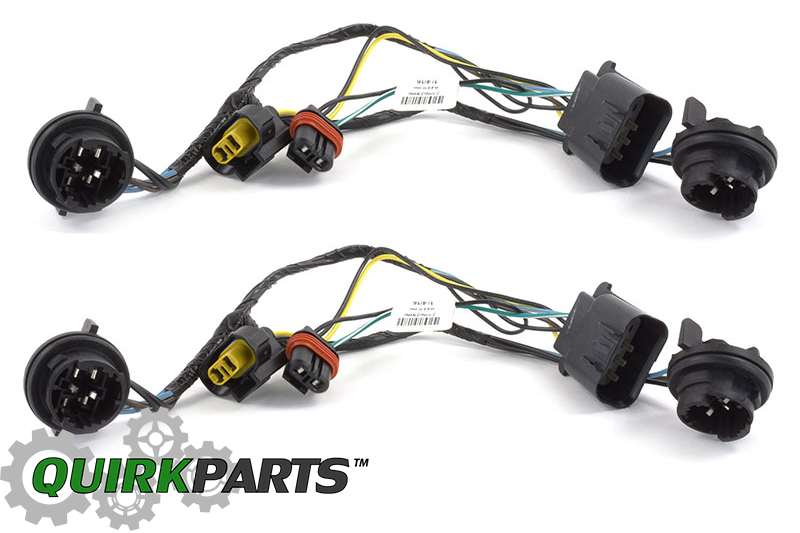 OEM NEW Head Light Socket Wiring Harness Front Right Left ...