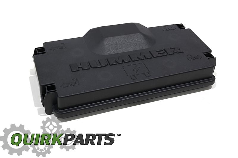 Oem New Upper Fusebox Fuse Relay Cover 37l 53l 0710 Hummer H3