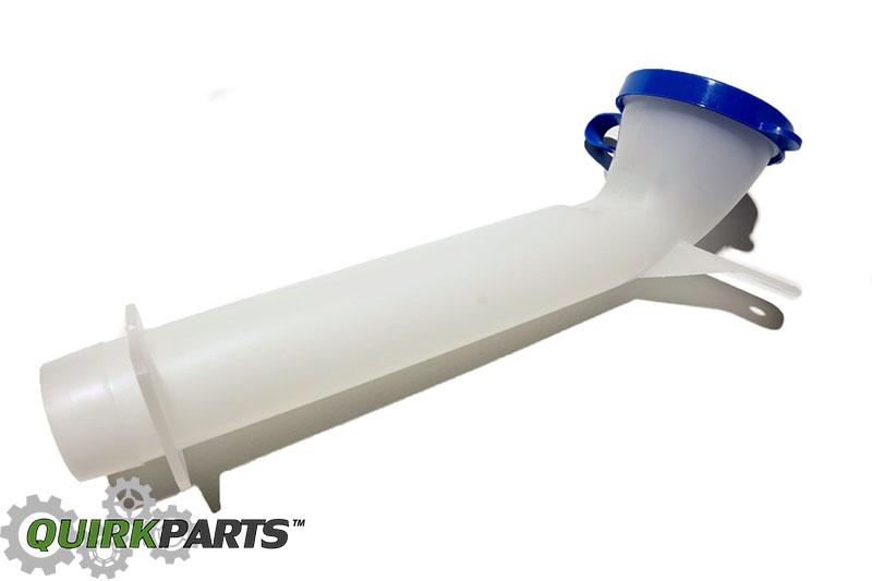 Nissan Frontier Pathfinder Xterra Windshield Washer Reservoir Tank Inlet Tube