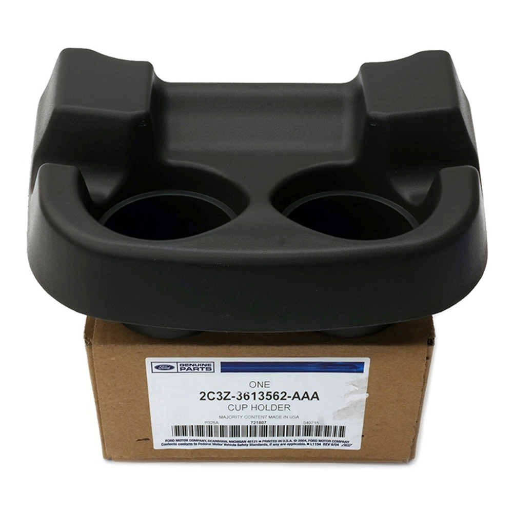 Image is loading oem new front center console cup holder flint