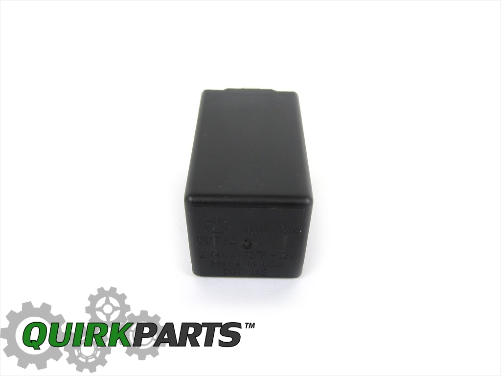 turn signal flasher 96 04 jeep dodge chrysler turn signal combination flasher relay oem new mopar