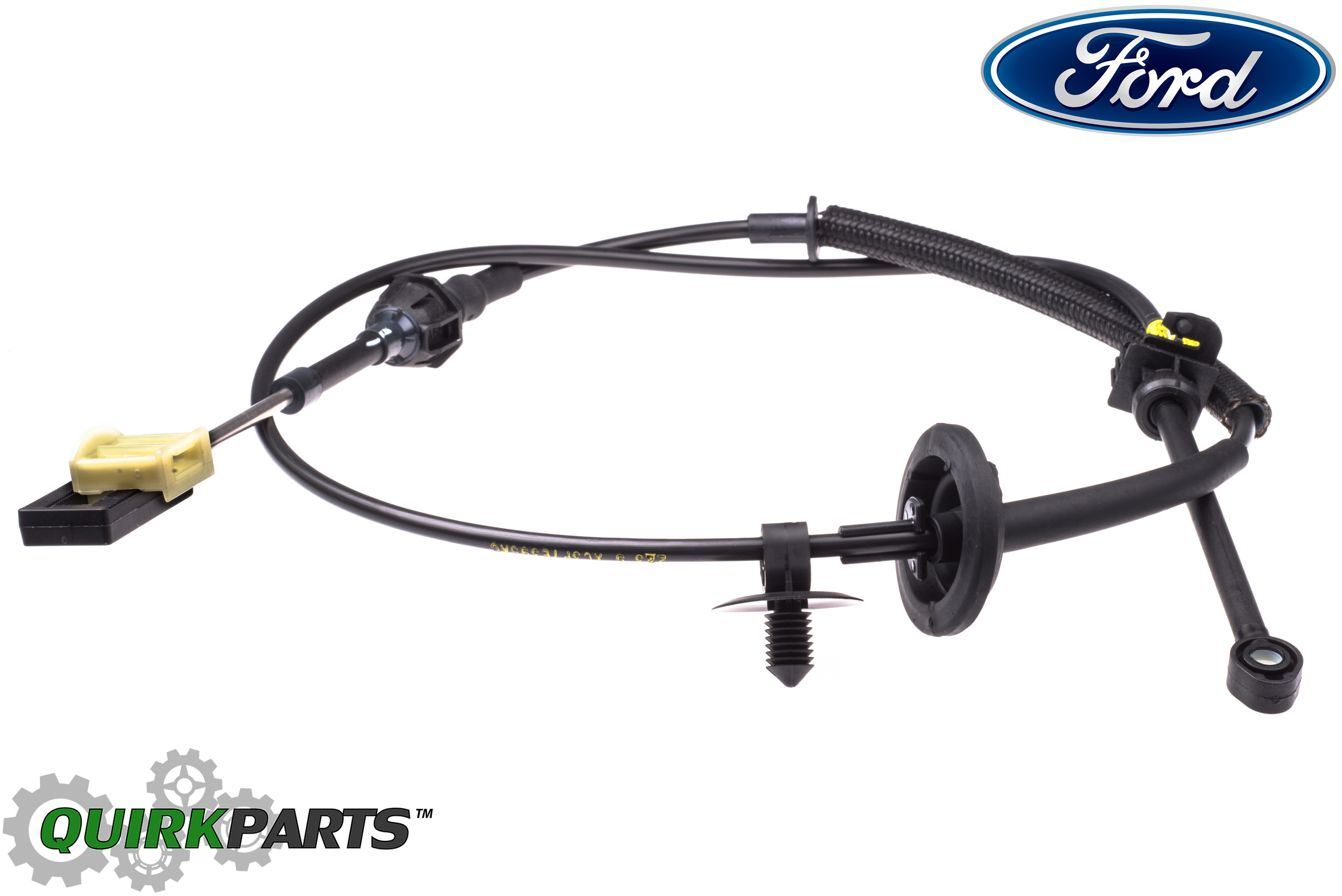 2005 2010 ford mustang automatic transmission gear shifter control cable oem new ebay. Black Bedroom Furniture Sets. Home Design Ideas