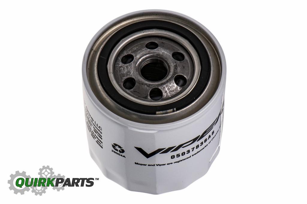 Ab on Dodge Viper Performance Oil Filter