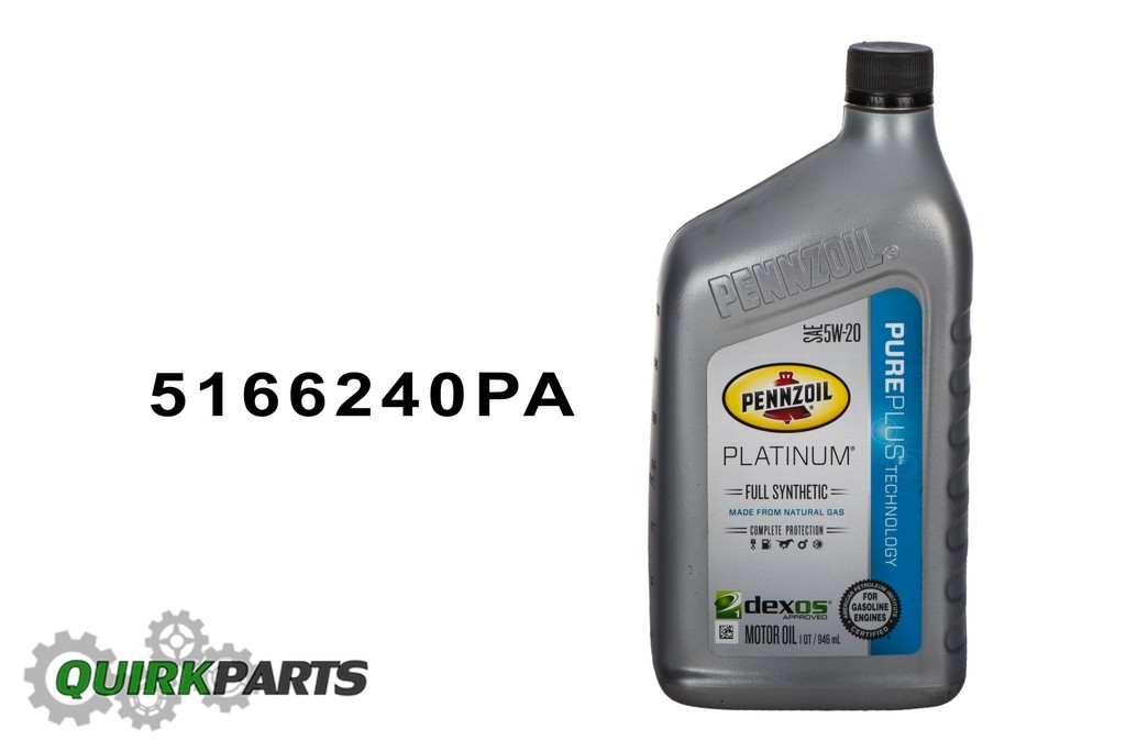 5w20 full synthetic motor oil platinum 6 quarts pennzoil for Pure synthetic motor oil