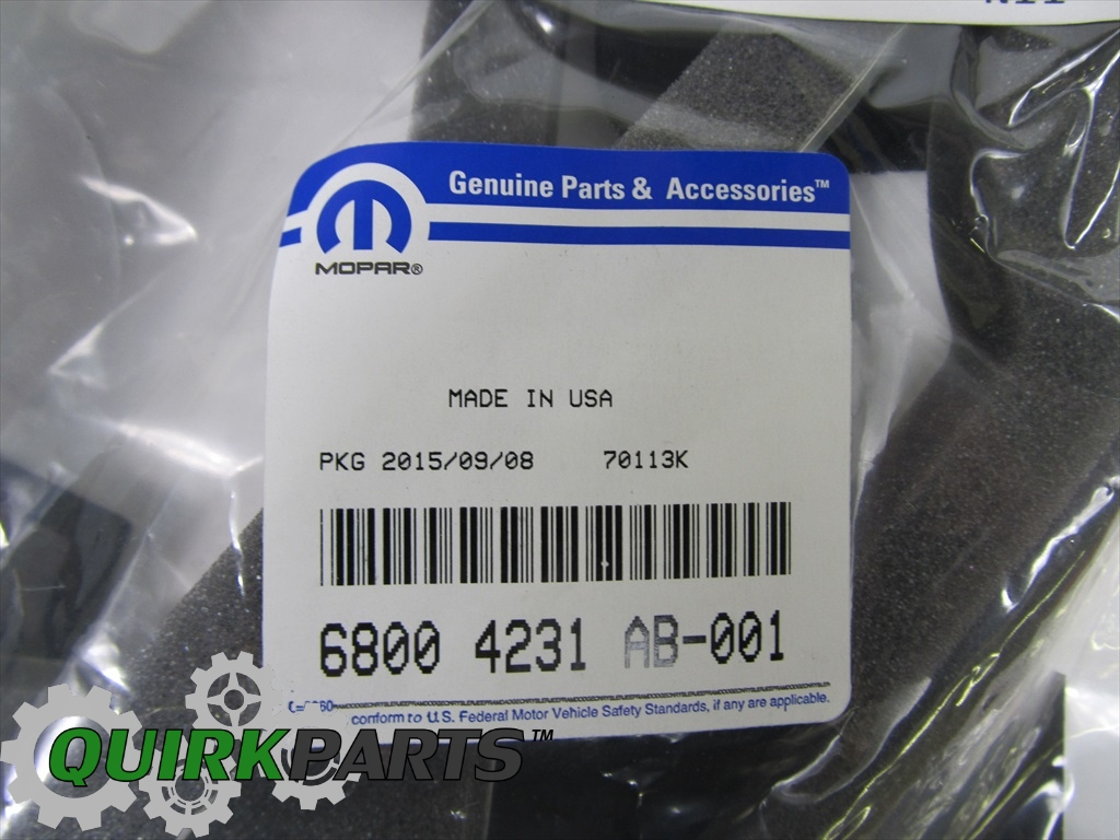 HVAC Unit Case Seal Kit Mopar 68004231AB