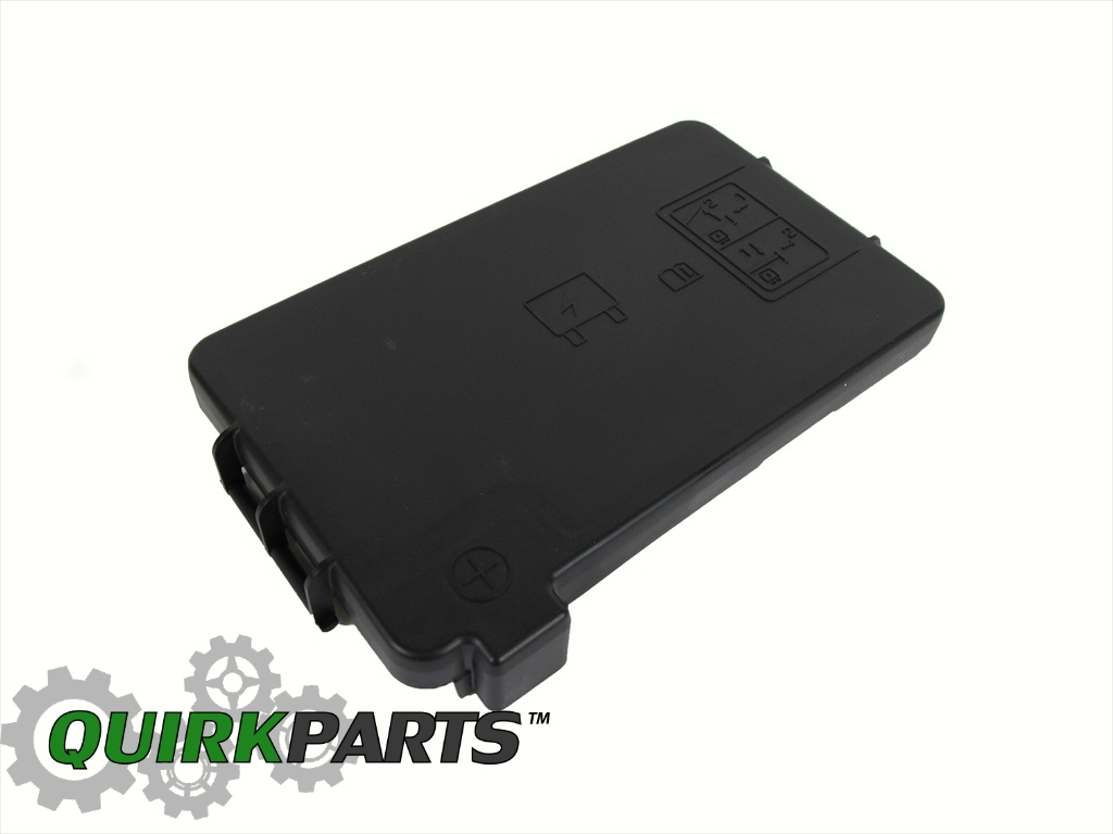 Dodge Ram 1500 2500 3500 Fuse Box Cover Lid Oem New Mopar Genuine