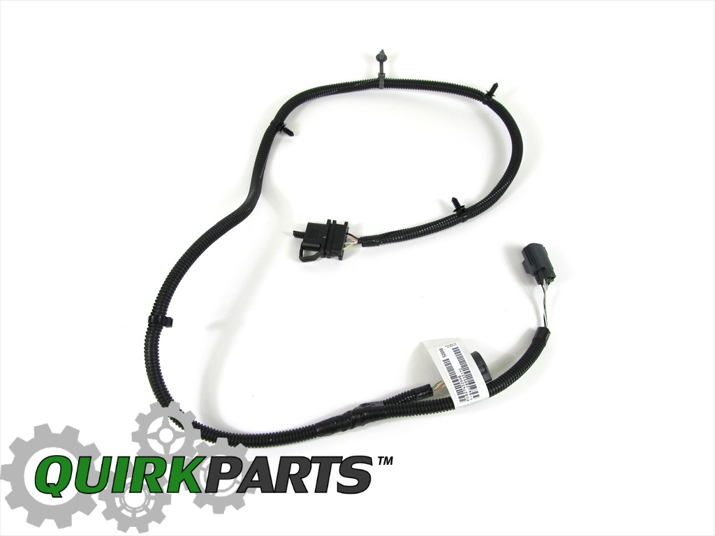 Jeep wrangler trailer tow wiring harness oem new