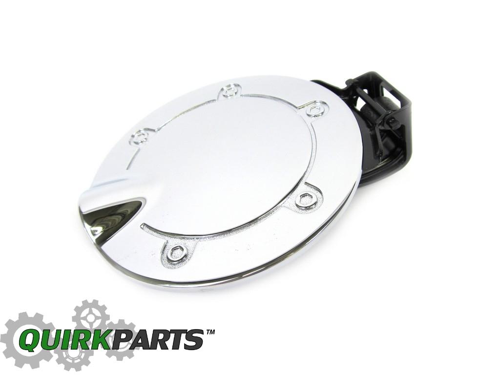 OEM Chrysler Aspen Dodge Durango Chrome Fuel Filler Door Gas Cap 82211584AB