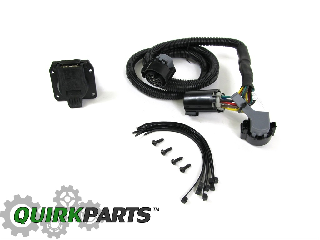 dodge ram wiring harness for fifth wheel trailer this wiring harness for fifth wheel trailer tow is a direct fit for listed vehicles
