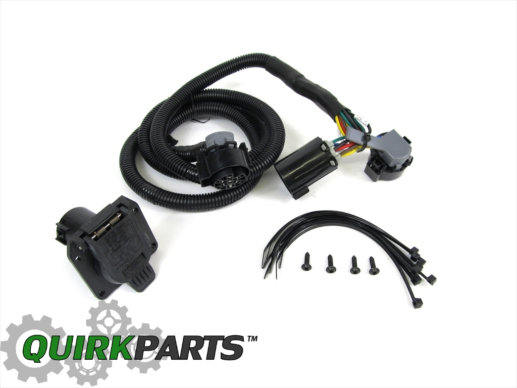 10 16 dodge ram 2500 3500 wiring harness for fifth wheel trailer tow oem mopar ebay