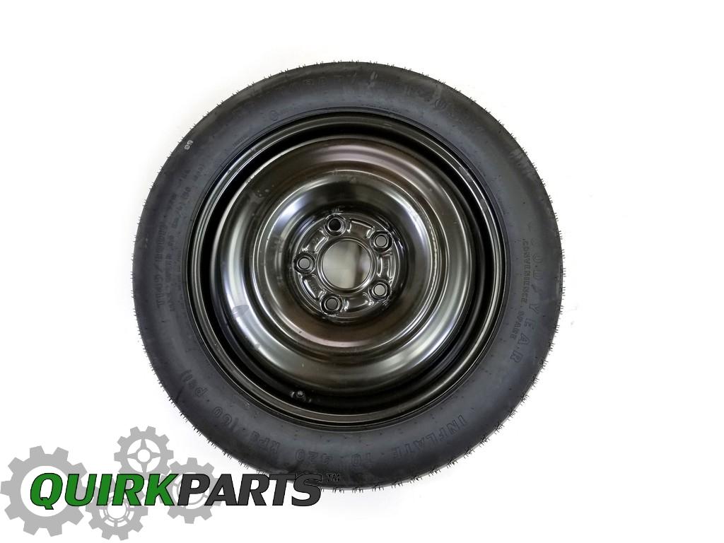 purchase 14 16 dodge chrysler handicap mobility conversion van spare tire mopar genuine. Black Bedroom Furniture Sets. Home Design Ideas