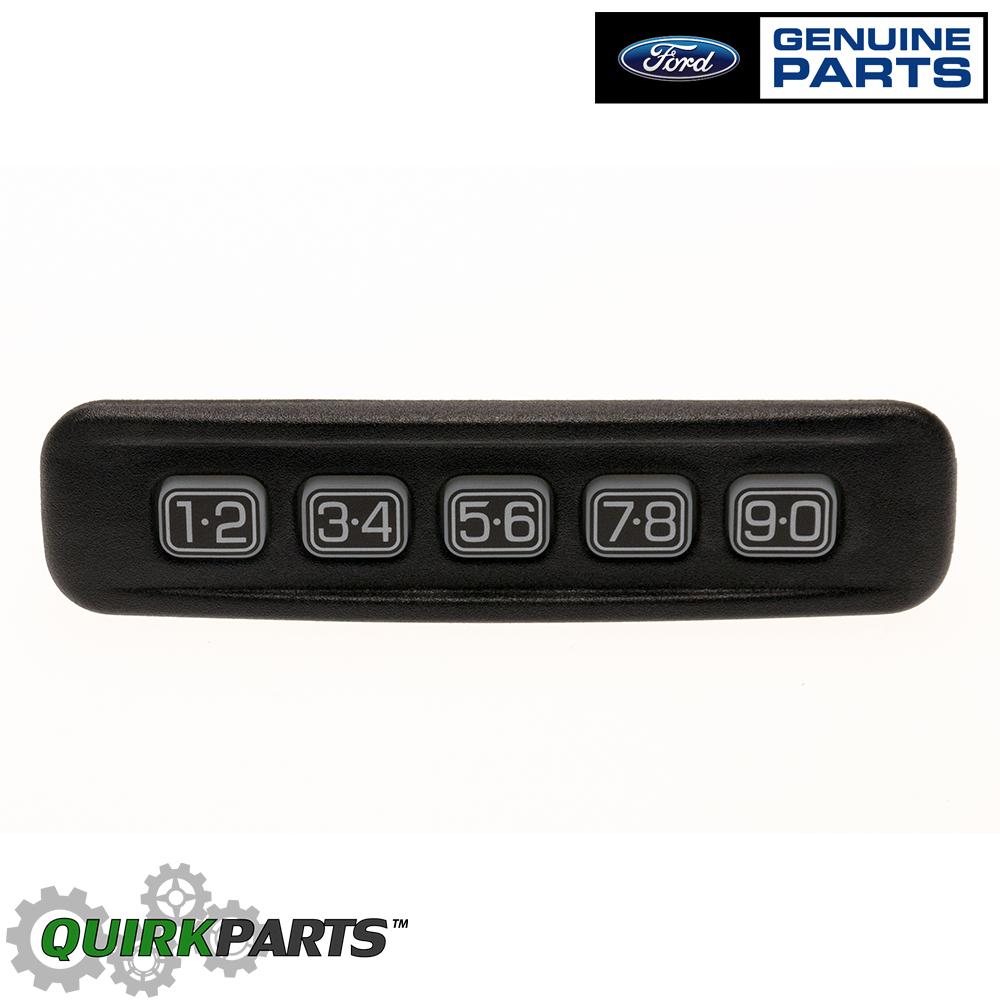 Ford Lincoln Left Driver Door Keyless Entry Number Keypad ...