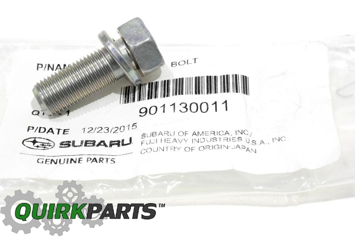 Sell Subaru Disc Brake Caliper Bracket Mount Bolt Set 2 Impreza Wrx Sti Oem 901130011 Motorcycle