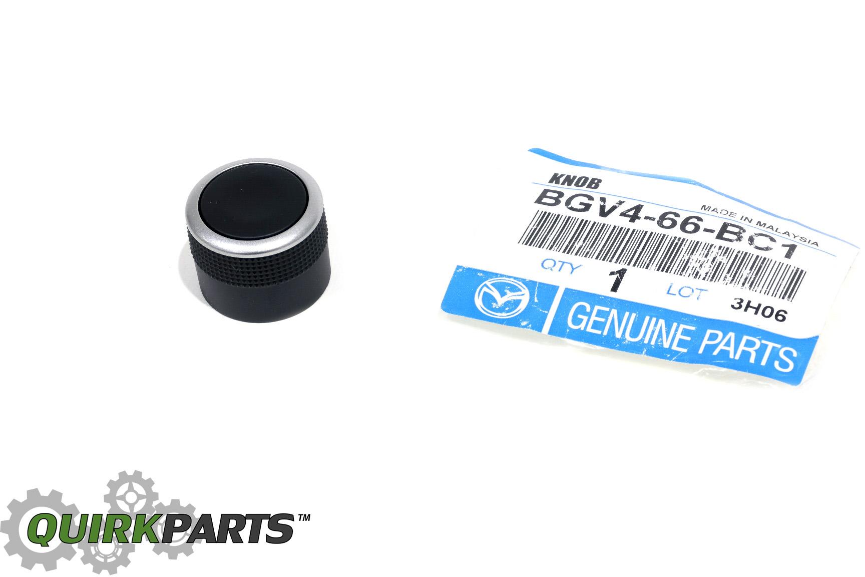 Details about Mazda 3 CX-9 Radio Tuner Deck Volume Control Switch Knob  BGV4-66-BC1 OEM