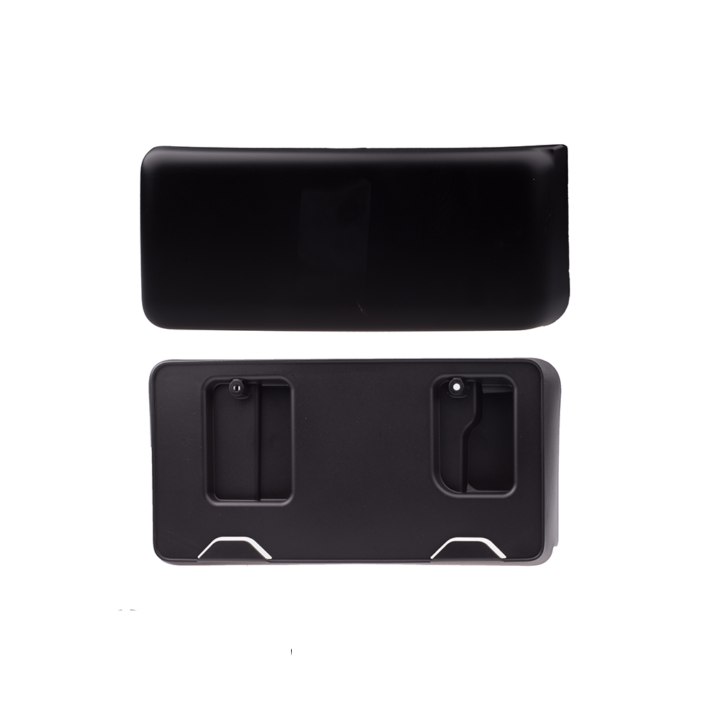 2014 ford f150 front bumper license plate bracket autos post