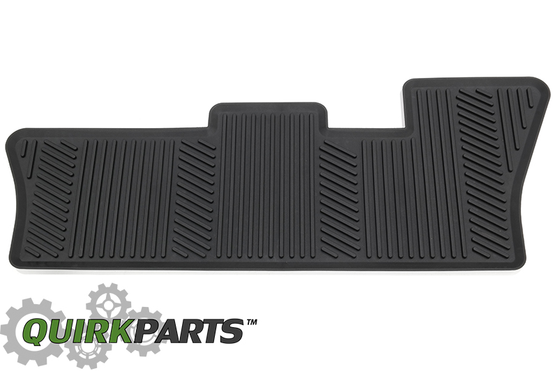 Oem new all weather season rubber floor mat 3rd row 16 18 01794 area code