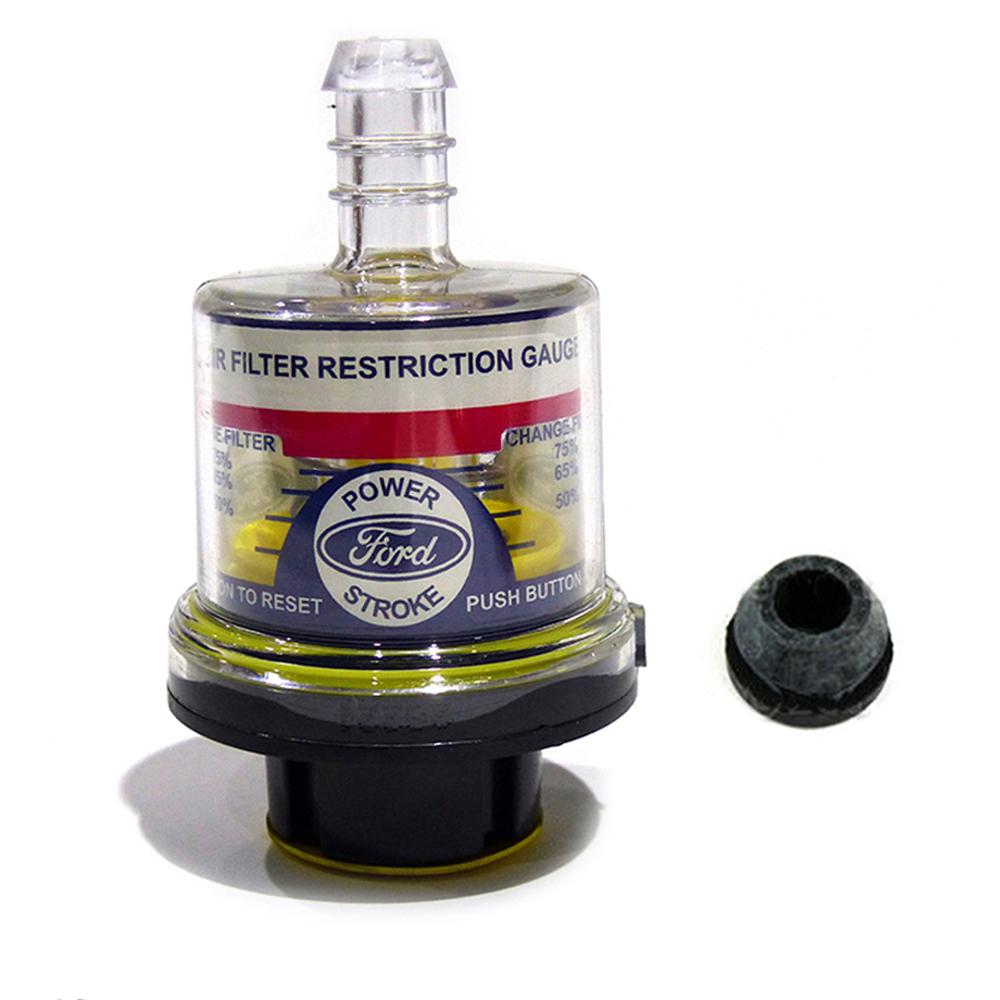 99-03 Ford F250 F350 Excursion 7.3L Diesel Air Filter Intake Gauge /& Grommet OEM