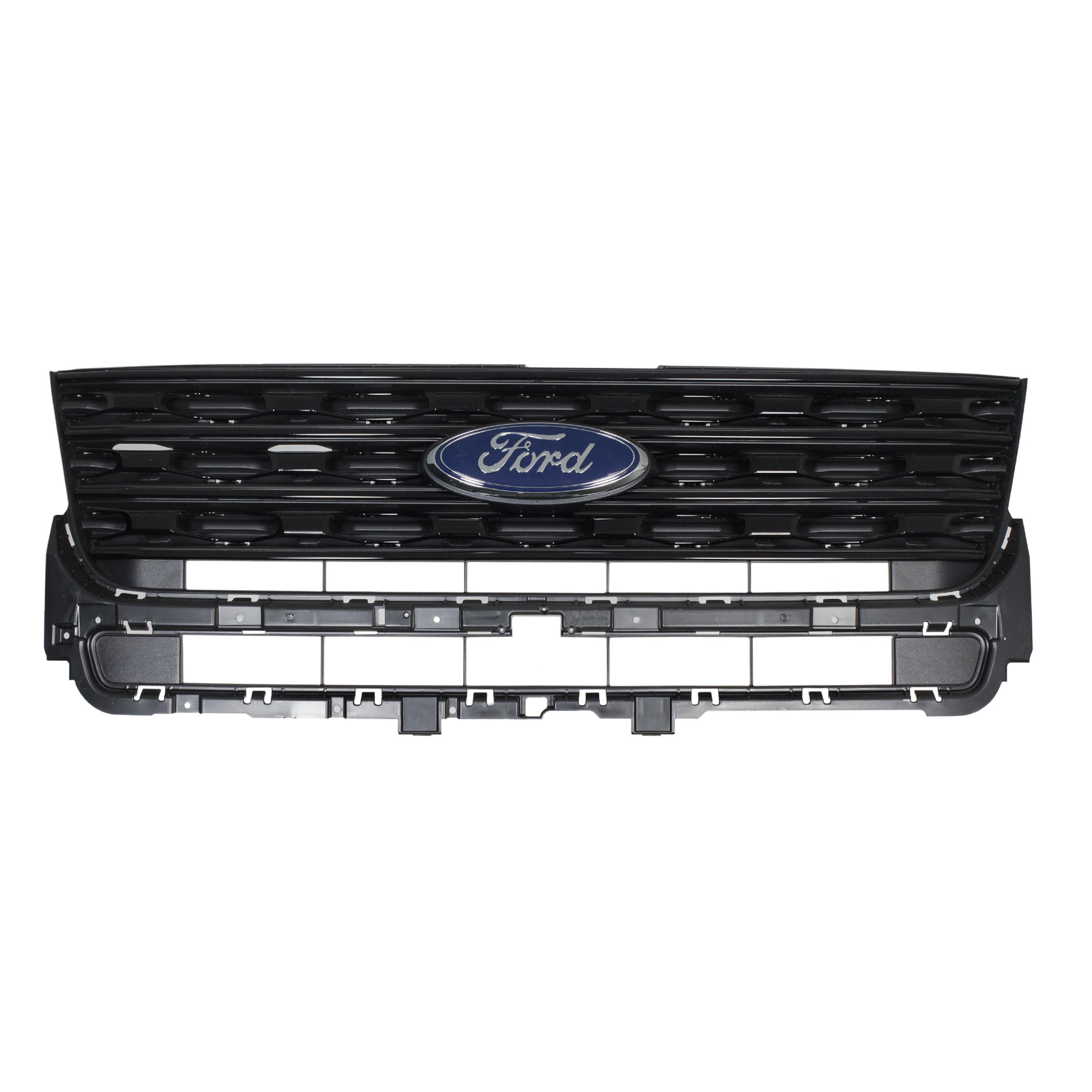 2016 2017 ford explorer sport radiator grille black grill. Black Bedroom Furniture Sets. Home Design Ideas