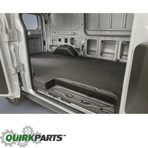 2015-2016 Ford Transit Medium Series Rubber Cargo Floor