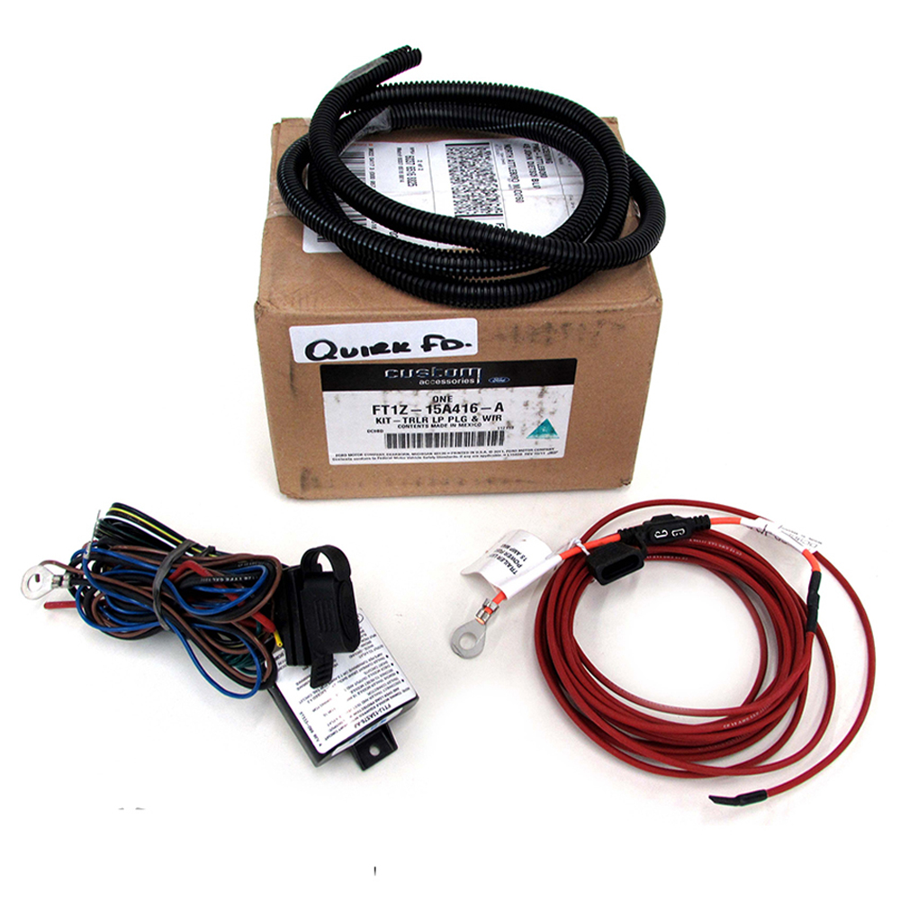 Ford Edge Flex Escape MKX 4 PIN Trailer Hitch Wiring Harness TOW Kit ...