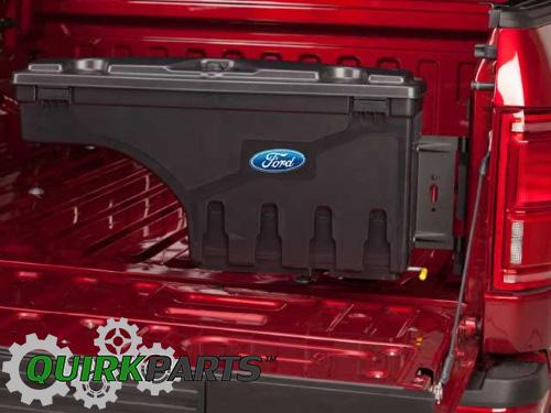2015 2017 ford f 150 lockable truck bed pivot tool storage. Black Bedroom Furniture Sets. Home Design Ideas