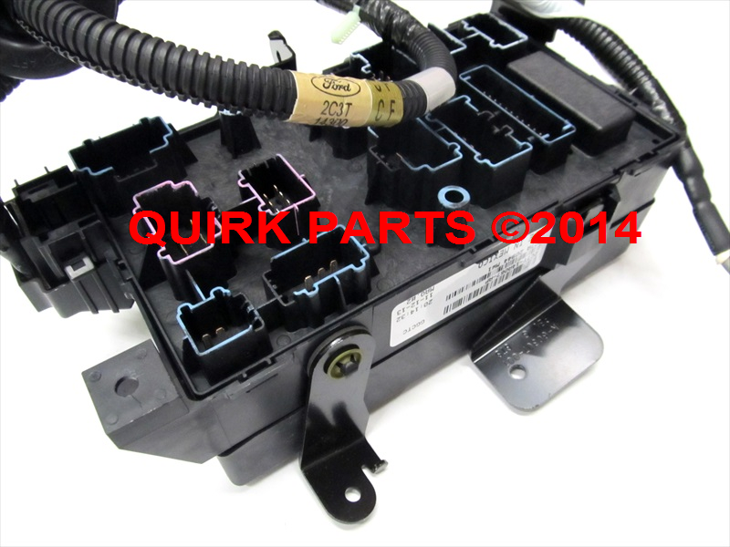 Ford F350 Central Junction Fuse Box Diagram Circuit Wiring