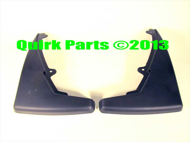 2007 2008 2009 Ford Mustang GT500 Rear Molded 2 piece Mud Flaps OEM