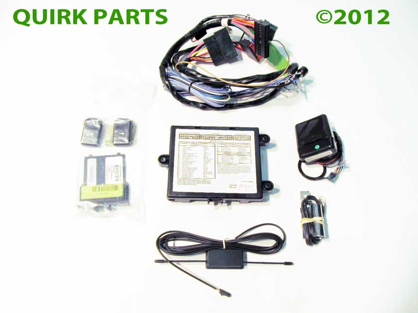 2010-2013 Ford Lincoln Mercury Bronze Remote Starter System Kit ...