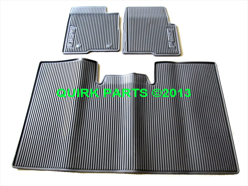 2010 2014 ford f150 crew cab all weather rubber floor mats. Black Bedroom Furniture Sets. Home Design Ideas
