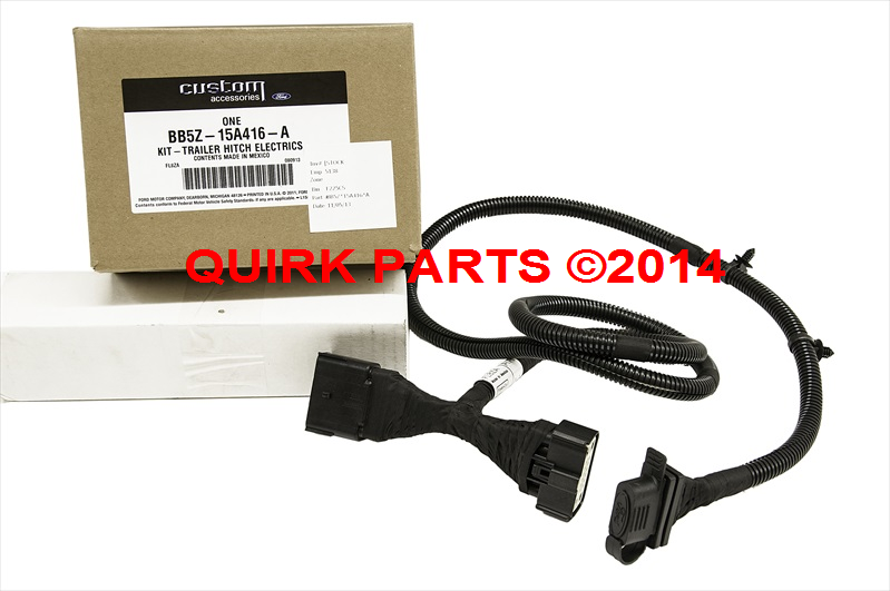 details about 2011 2016 ford explorer 4 pin trailer hitch wiring harness oem new genuine 2014 ford explorer trailer wiring harness installation 2014 ford explorer trailer wiring #10