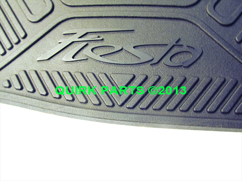 2011 2013 Ford Fiesta All Weather Rubber Floor Mats Oem
