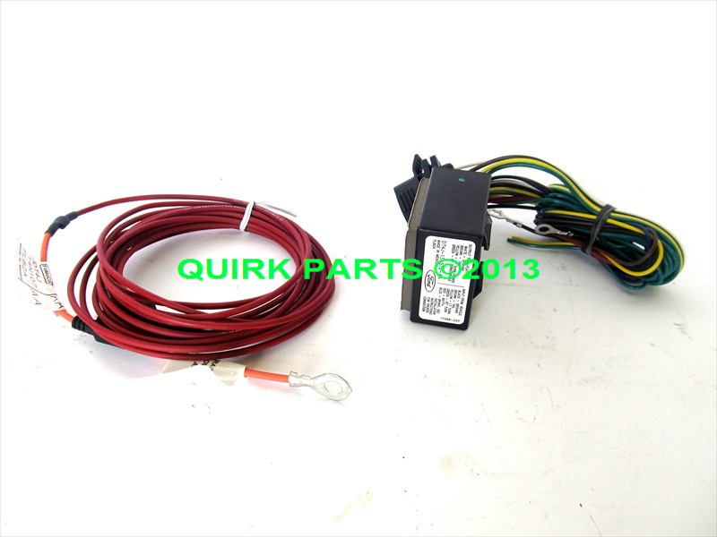 ford edge flex escape mkx 4 pin trailer hitch wiring harness tow kit rh ebay com Ford Trailer Wiring Harness Diagram Ford Ranger Trailer Wiring Harness
