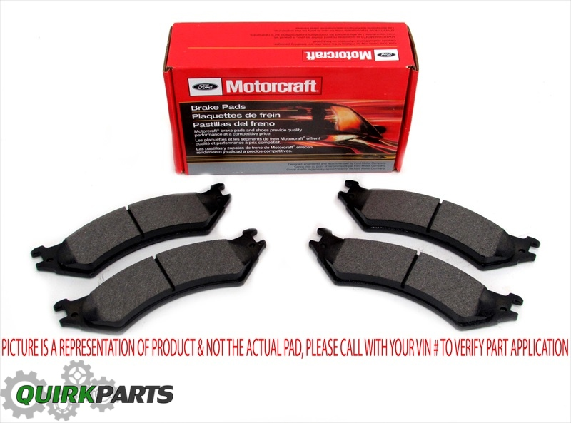Front Rear Ceramic Brake Pads For 03-11 Mercury Grand Marquis Lincoln Town Car