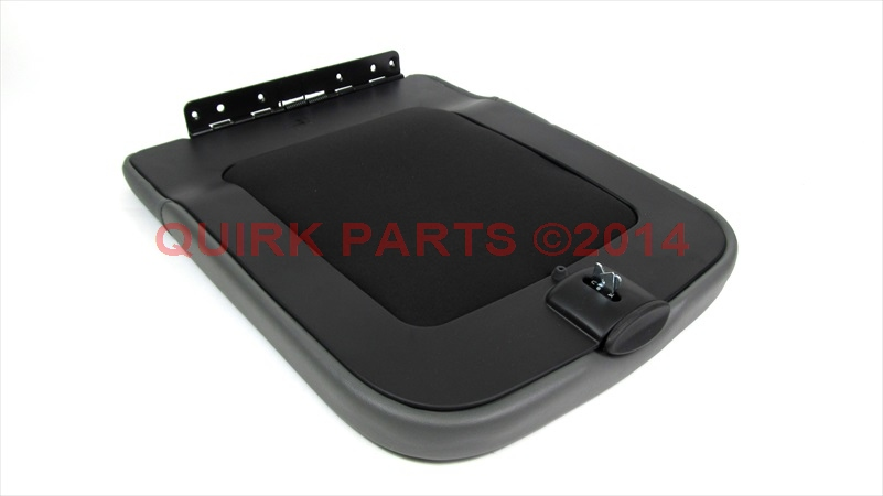 07 08 dodge ram 1500 07 09 ram 2500 3500 gray center console lid oem new mopar ebay. Black Bedroom Furniture Sets. Home Design Ideas