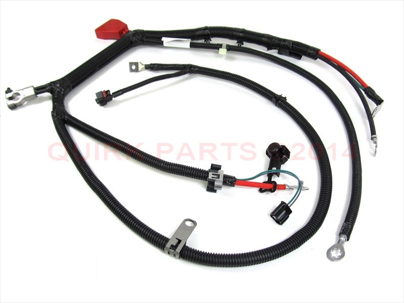 99-00 jeep grand cherokee with 4.7l battery cable wiring ... 2000 jeep wiring harness #14