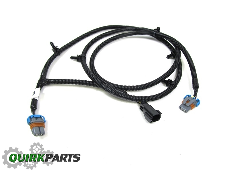 2002 2008 dodge ram 1500 fog lamp light jumper wiring harness oem new mopar ebay