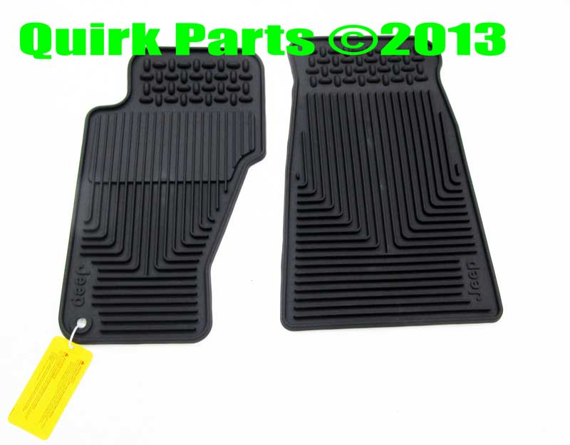1999 2004 Jeep Grand Cherokee Front Rear Slush Floor Mats Mopar Genuine