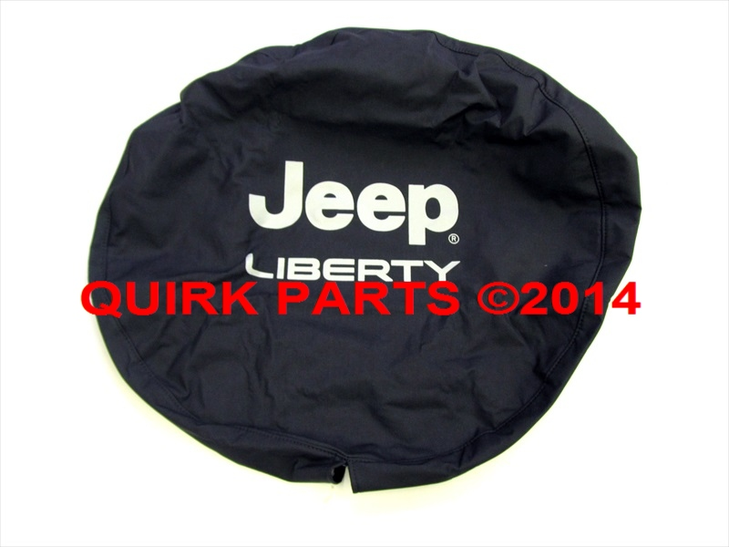 02 07 jeep liberty spare tire cover black denim with silver lettering. Cars Review. Best American Auto & Cars Review