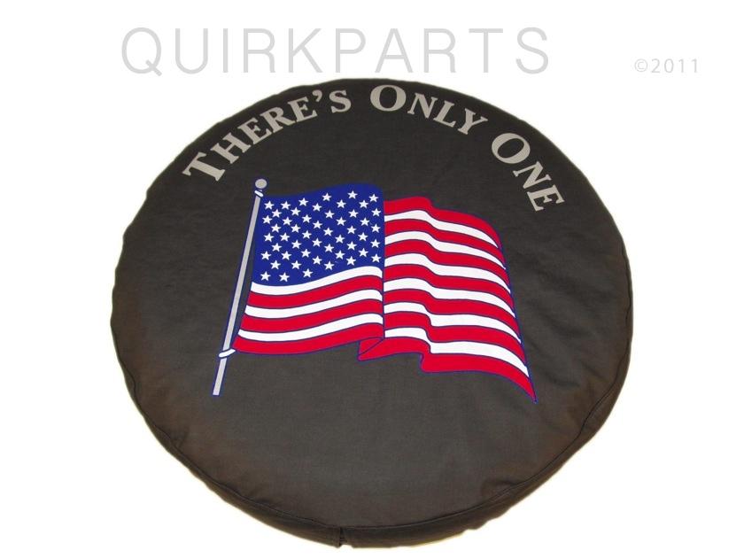 97 12 Jeep Wrangler Liberty Tire Cover American Flag SM