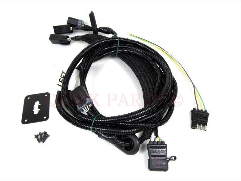 Trailer Wiring Harness For Dodge Dakota : Dodge durango towing wiring harness get free image about