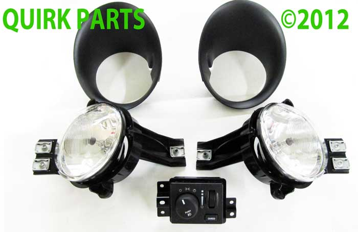 2006 2009 dodge ram 1500 2500 3500 fog light kit mopar. Black Bedroom Furniture Sets. Home Design Ideas