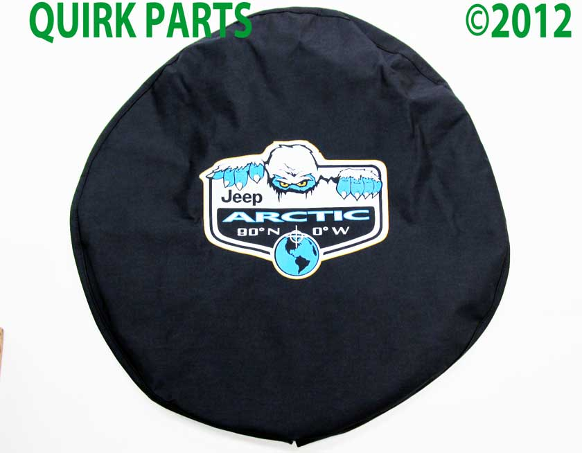 1997 2012 Jeep Wrangler Arctic Edition Spare Tire Cover Mopar