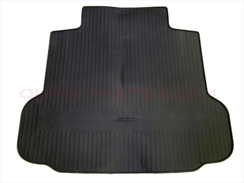 2015 chrysler 200 rubber slush floor mats rear trunk cargo liner mat set mopar ebay. Black Bedroom Furniture Sets. Home Design Ideas