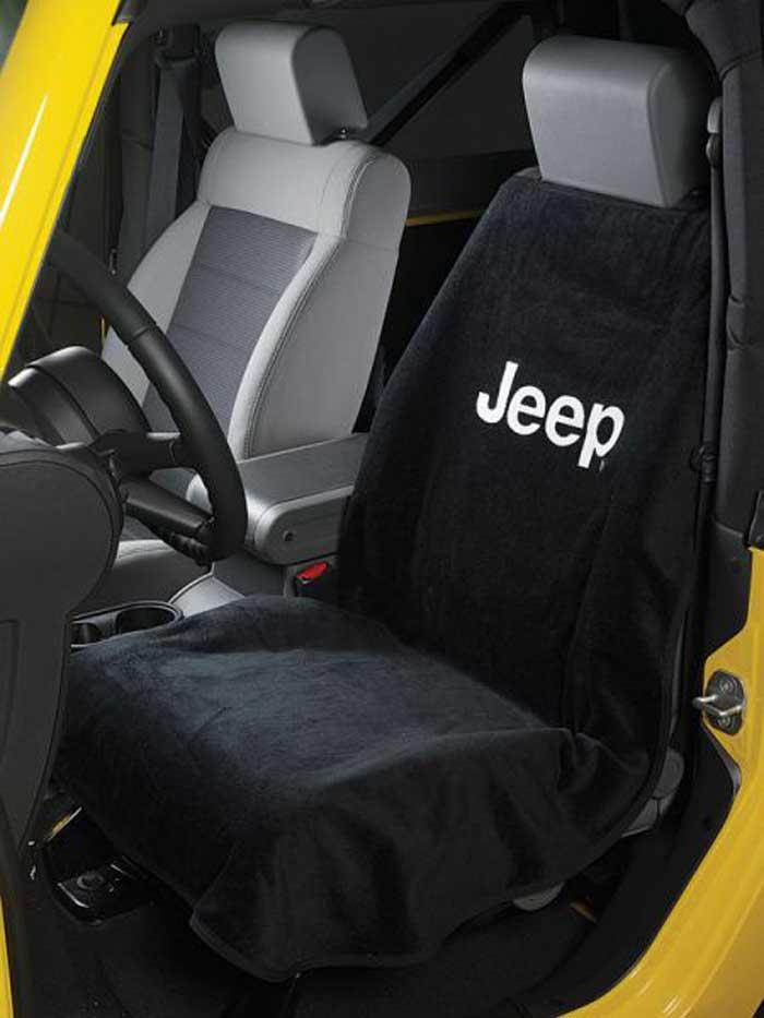 jeep wrangler cherokee commander compass liberty patriot seat cover towel mopar ebay. Black Bedroom Furniture Sets. Home Design Ideas