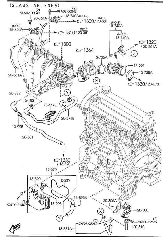2006 Suzuki Reno Engine Diagram