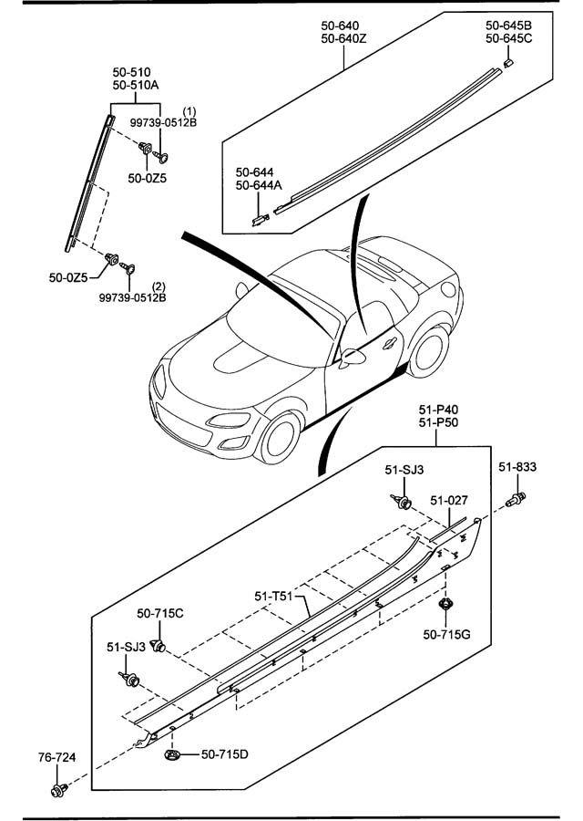 Mazda Miata Seat