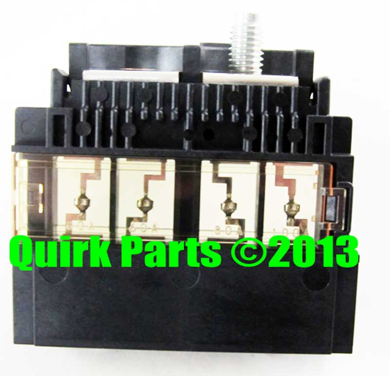 battery fuse nissan altima murano maxima positive charge battery fuse block holder link oem