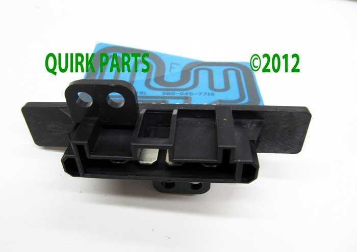1999 2002 nissan quest blower motor resistor genuine oem for Nissan quest blower motor resistor