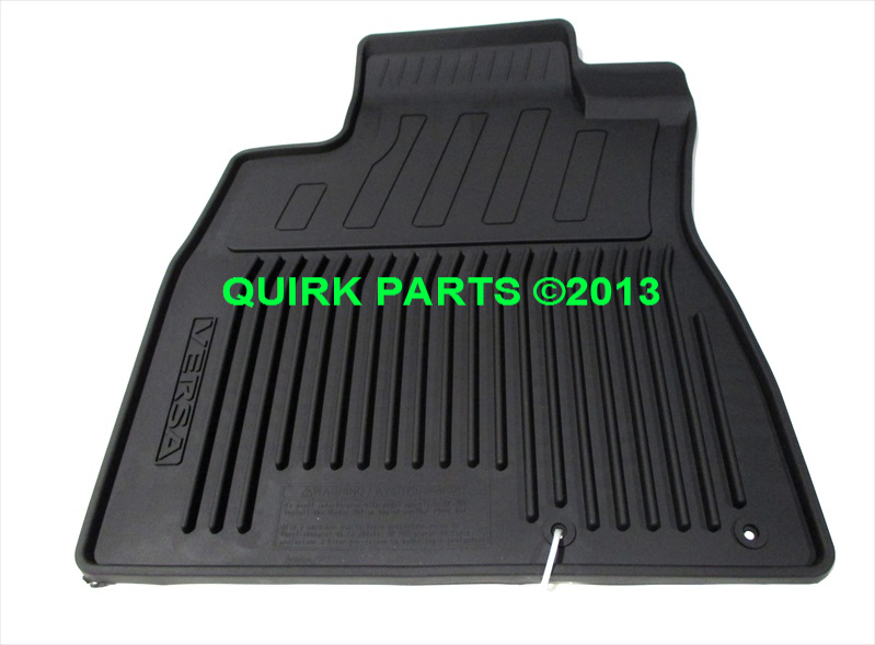 2013 2015 Nissan Versa Note All Weather Floor Mats Brand